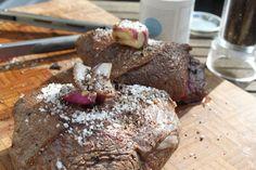 Pulled Beef vom Falschen Filet aus dem Dutch Oven