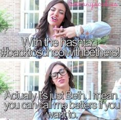 Bethany Mota quotes :P love ya Beth Bethany Mota, Bae, You Are Amazing, Picture Captions, Life Savers, Really Funny, Role Models, My Idol, Youtubers