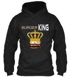 Burger King Black Sweatshirt Front