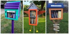 Little Free Libraries —Little Libraries