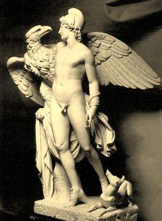 Adamo Tadolini (Italian, 1788-1868), Ganymede, 1823, Marble, Hermitage Museum, St. Petersburg