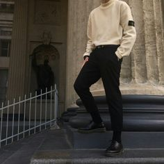 E 结 Ane der wilden Jagd 结 - Mode masculine, formes de style et astuces vestimentaires Korean Fashion Men, Fashion Mode, Korean Men, Boy Fashion, Paris Fashion, Mens Fashion, Fashion Outfits, Fashion Ideas, Fashion Menswear