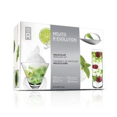 Molecular mixology kit Freshen up your party with the ultimate mojito experience Deconstruct your mojito into floating mint caviar and spectacular cocktails. It's the latest innovation for science and chemistry fans