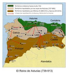 Los reinos cristianos. Reino de Asturias. Pelayo (737) Fafila (737-739) Alfonso…