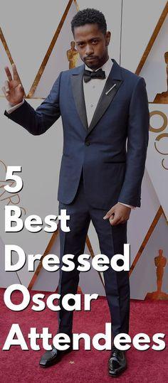 5 Best Dressed Oscar Attendees