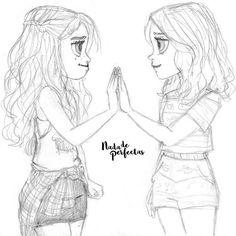 """""""So I'm wonderin', can we still be friends?... Can we be friends?"""" #lumbar #nadadeperfectas #soyluna #soyluna2 🌙  HEY HEY ❤ ❤un dibujo de ayer, que probablemente finalize hoy, muchos de nosotros amamos esta escena, sí me hizo llorar, fue tan lindo ver otra vez a Luna y Ámbar entenderse! así que decidí dibujarla, también estaré haciendo el """"casí"""" beso #simbar, pobre Jazmín, ya veremos como todo se resuelve... ❤ muchas gracias por +224.700 personas que deciden acompañarme, en este mi sueño…"""