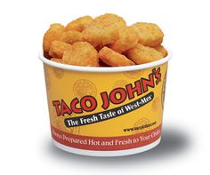 Taco Johns Potato Ole Seasoning: 4 tsp Lawrys seasoning salt 2 tsp paprika 1 tsp ground cumin 1 tsp cayenne pepper Mix all ingredients. Sprinkle on tator tots or crispy crowns. ( I miss Taco John's Potato Ole! Taco Johns Potato Ole Recipe, Taco John's, Do It Yourself Food, Le Diner, Food Dishes, Potato Dishes, Side Dishes, Food Food, Gastronomia