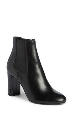 SAINT LAURENT LOULOU CHELSEA BOOTIE. #saintlaurent #shoes #