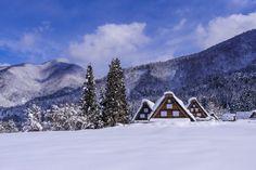 500px / Shirakawa-go Snow House by Jimmy Li