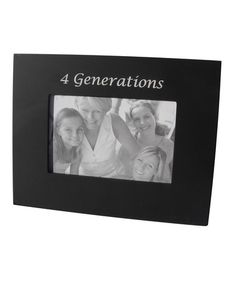Look what I found on #zulily! '4 Generations' Frame by Havoc Gifts #zulilyfinds