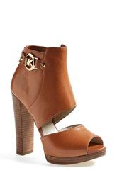 MICHAEL Michael Kors 'Wyatt' Cutout Open Toe Sandal (Women)