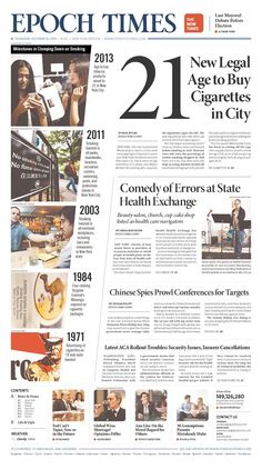 Best ideas about Newspaper Shit, Newspaper Layouts and ...