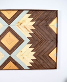 Each piece is made exclusively with Black Walnut, White Oak, and Douglas Fir. The characteristics of the design will remain the same, but the depth and quality of the piece will be greatly enhanced. -