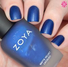 Zoya Winter/Holiday 2015 Matte Velvet Collection Swatches, Review & Giveaway | Cosmetic Sanctuary- -Yves