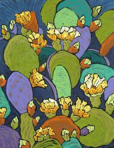Cyber+Monday+and+Cactus+Blossoms,+painting+by+artist+Monique+Straub,+PSA