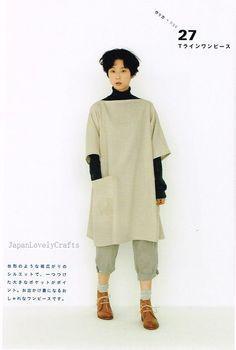 Apron & Apron Dress by Yoshiko Tsukiori - Straight Stitch Sewing - Japanese Pattern Book for Women Clothing - B1299-63 | Flickr - Photo Sharing!