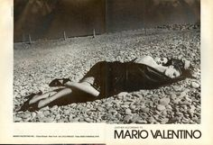 Mario Valentino ad from Vogue, September 1983.