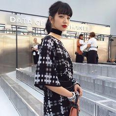 Japanese Princess, Japanese Girl, Japanese Models, Japanese Fashion, Nana Komatsu Fashion, Paris Fashion Week 2016, Komatsu Nana, Internet Girl, Instagram People