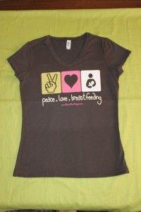 Peace, Love & Breastfeeding. Perfect :)