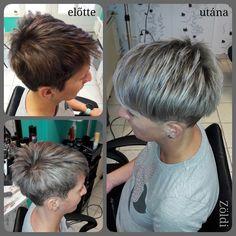 #zöldiszilvia #munkám #mywork #hajvágás #haircut #hajfestés #haircolor #melír