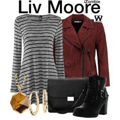 Inspired by Rose McIver as Liv Moore on iZombie