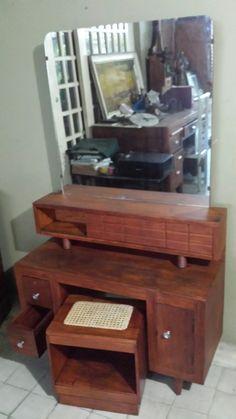 Narra Vanity Dresser