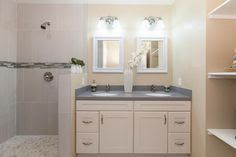 vanity joined to shower and bath - Google Search