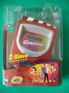 Electronic Guesstures 2 Sided Game Hasbro Parker Brothers 42515 2005 PreOwned #Hasbro
