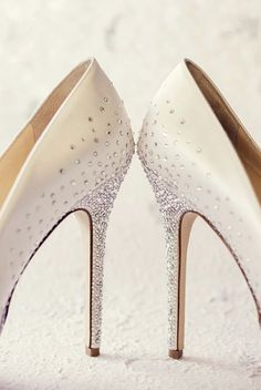 Wedding shoes idea; Featured Photographer: Leanne Pedersen Photography