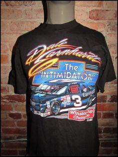 Vintage 90's NASCAR Dale Earnhardt Shirt by RackRaidersVintage on Etsy