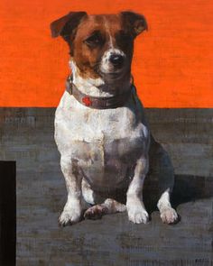 Find this artwork on Artsper: Simone by François Bard. Dog Portraits, Portrait Art, Figure Painting, Painting & Drawing, Paw Print Art, Mundo Animal, Whimsical Art, Animal Paintings, Dog Art