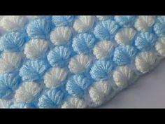 Crotchet Patterns, Crochet Blanket Patterns, Baby Blanket Crochet, Baby Knitting Patterns, Knitting Designs, Crochet Home, Crochet Crafts, Knit Crochet, Hand Embroidery Stitches
