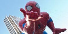 NEW YORK - NOVEMBER 22: Spiderman balloon is flown at the 86th A