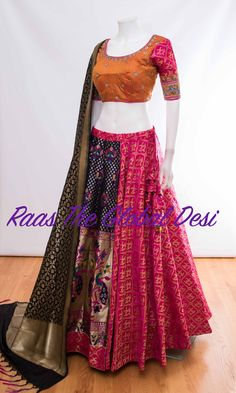 Order contact my whatsapp number 7874133176 Half Saree Designs, Choli Designs, Lehenga Designs, Ethnic Outfits, Indian Outfits, Saree Dress, Lehenga Gown, Banarasi Lehenga, Prom Dress
