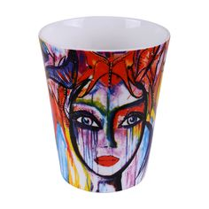 Slice Of Life Krus, 35 cl - Carolina Gynning @ RoyalDesign. Namaste India, Cartoon House, Slice Of Life, What Is Life About, Shot Glass, Product Launch, Ceramics, Tableware, Artist