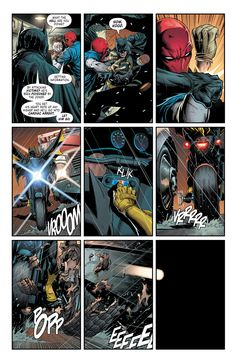 Hawkgirl, Batwoman, Nightwing, Batman Red Hood, Three Jokers, Plastic Man, Comic Book Artists, Comic Books, Comic Panels