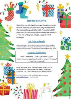 2015 toy drive flyer