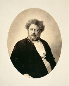 Gustave Le Gray / 'Alexandre Dumas père en costume russe', 1859.  Gustave Le Gray 30 Août 1820 - 30 Juillet 1884