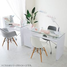 Home Nail Salon, Nail Salon Design, Nail Salon Decor, Hair Salon Interior, Salon Interior Design, Beauty Salon Design, Salons Decor, Salon Nails, Beauty Room Decor
