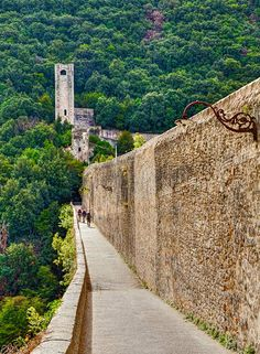 Ponte delle Torri – Spoleto, Umbria