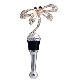 Take a look at this Dragonfly Bottle Stopper today! Bottle Stoppers, Perfume Bottles, Take That, My Style, Bar, Interior, Kitchen, House, Decor