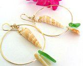 Hawaiian Cone Shell Necklace. $50.00, via Etsy.