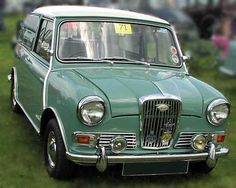 1964 Wolseley Hornet Maintenance/restoration of old/vintage vehicles: the… Classic Mini, Classic Cars, Austin Cars, Cars Uk, Classic Mercedes, Classic Chevy Trucks, Classic Motors, Shops, Car Images