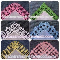 Fotoğraf: My Work: Crochet Edging. Follow me at https://www.facebook.com/Vacharamon