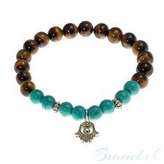 Perlenarmband mit Hand der Fatima - http://bramel.ch/accessoires-shop/armband/perlenarmband-mit-hand-der-fatima/ http://bramel.ch/wp-content/uploads/2014/09/Armband-mit-Hand-der-Fatima-600x600.jpg