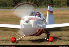 (Private) Scheibe Rotax Falke 2000 D-KIEP at Lubeck-Blankensee. Photo by Lars Hentschel Baby Strollers, Aviation, September 21, Children, Germany, Baby Prams, Young Children, Boys, Air Ride