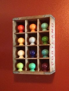 Fiestaware salt/pepper shaker display. #fiesta #fiestadinnerware #color