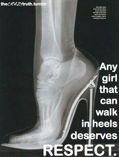 Exactly so stop asking do my feet hurt... just respect my commitment to fashion!!!