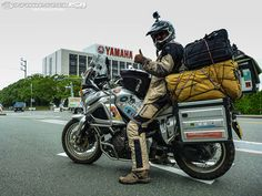 Nomad's World Ride: Leaving Japan - Motorcycle USA
