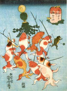 Utagawa kuniyoshi via the Kuniyoshi Project